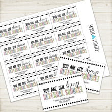 Load image into Gallery viewer, Personalized - Sharp Referral Source Gift Tags  ***Printable Digital File***