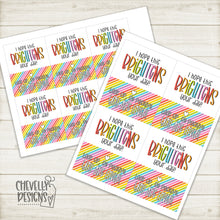 Load image into Gallery viewer, Printable - I Hope This Brightens Your Day - Gift Tags >>>Instant Digital Download<<<
