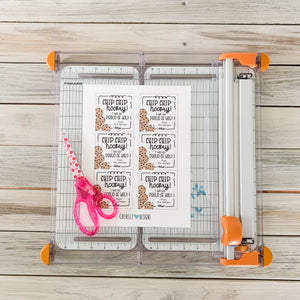 Personalized Chocolate Chip Cookie Gift Tags for Congratulation Gifts, Printable Digital File