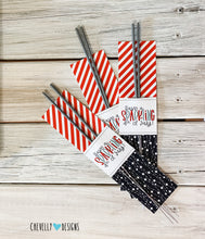 "Load image into Gallery viewer, Printable ""Have a Sparkling 4th of July"" Sparkler Holders 