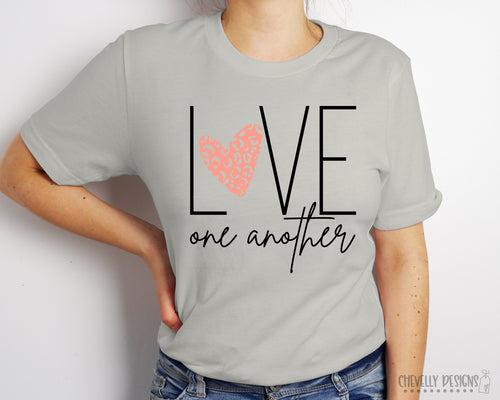 Love One Another Short Sleeved Tee - Unisex Sizing - FREE SHIPPING!