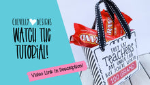 Load image into Gallery viewer, Printable Teacher Appreciation Gift Bag/Box for 100 Grand Candy - Small Treat Bag | Instant Digital File