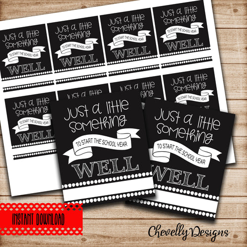 Back to School Gift Tags for Teachers - Stay Healthy Teacher Survival Kit Tags >>> Instant Digital Download<<<