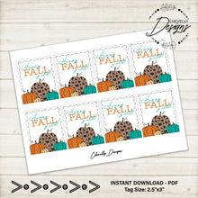 Load image into Gallery viewer, Pumpkin Gift Tags - Happy Fall Yall Pumpkins >>>Instant Digital Download<<<