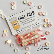 "Load image into Gallery viewer, Chill Pill 4"" Bag Toppers 