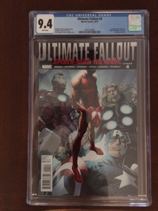 Ultimate Fallout #4 CGC 9.4 1st Print 1st Miles Morales