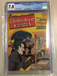 Detective Comics #128  CGC 7.0 Great Joker Cover