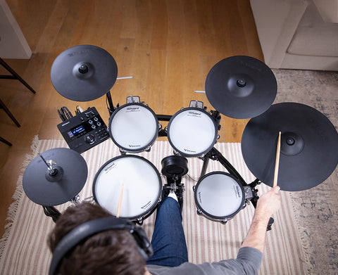 Roland td-27kv V-drums Larger Pads and Cymbals