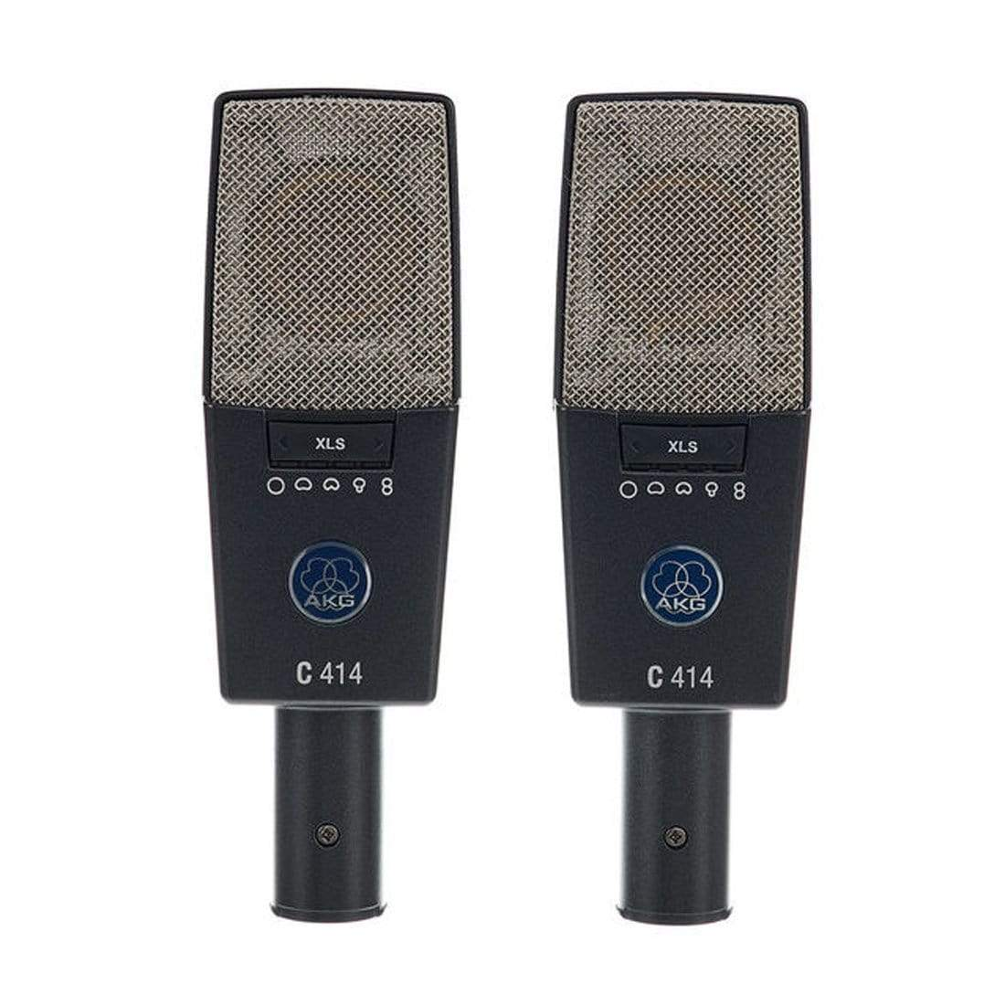 AKG C414 XLS Stereo Condenser Microphone Set