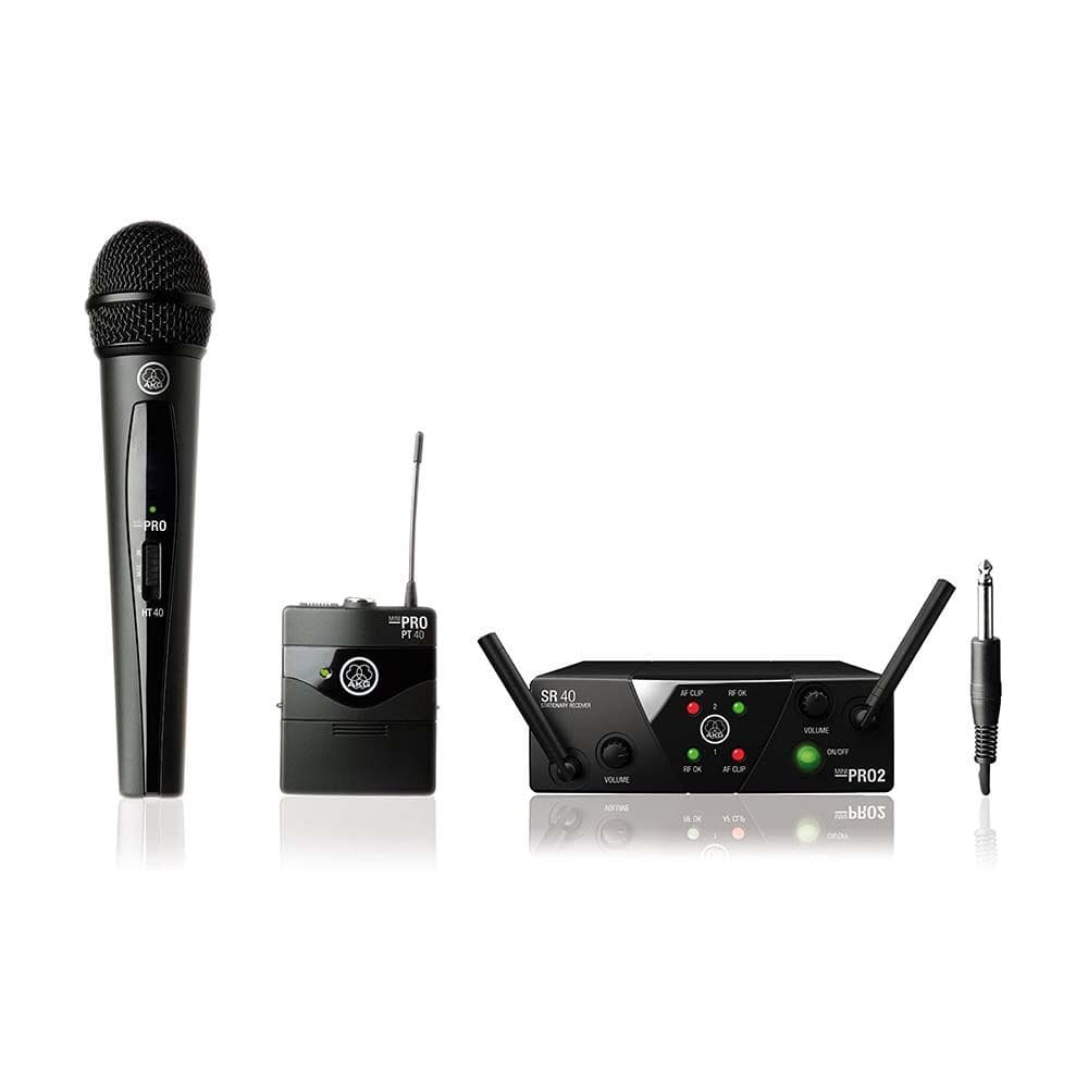 AKG WMS40MINI Mix Set - Wireless Instrument & Microphone System