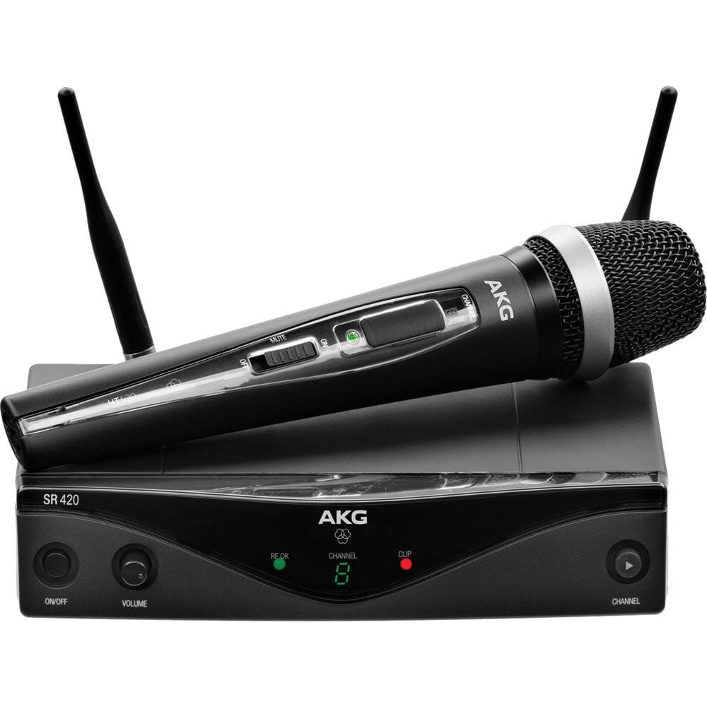 AKG WMS420 Vocal Set - Wireless Handheld Microphone System