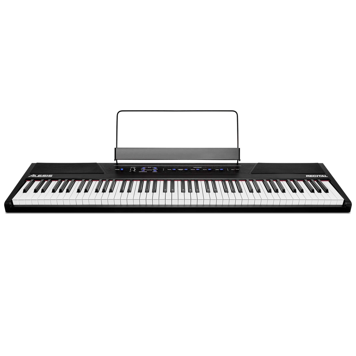 Alesis Key Instruments Alesis RECITAL Piano 88 premium full-sized semi-weighted keys