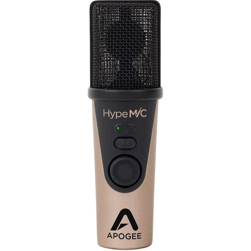 Apogee Electronics Condender Microphone Apogee HypeMiC USB Microphone with analog compressor