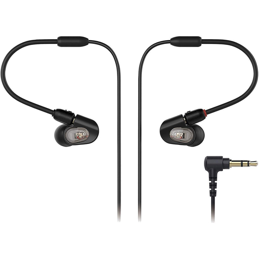 Audio-Technica In Ear Monitoring System Audio-Technica ATH-E50 In-Ear Monitor Headphones
