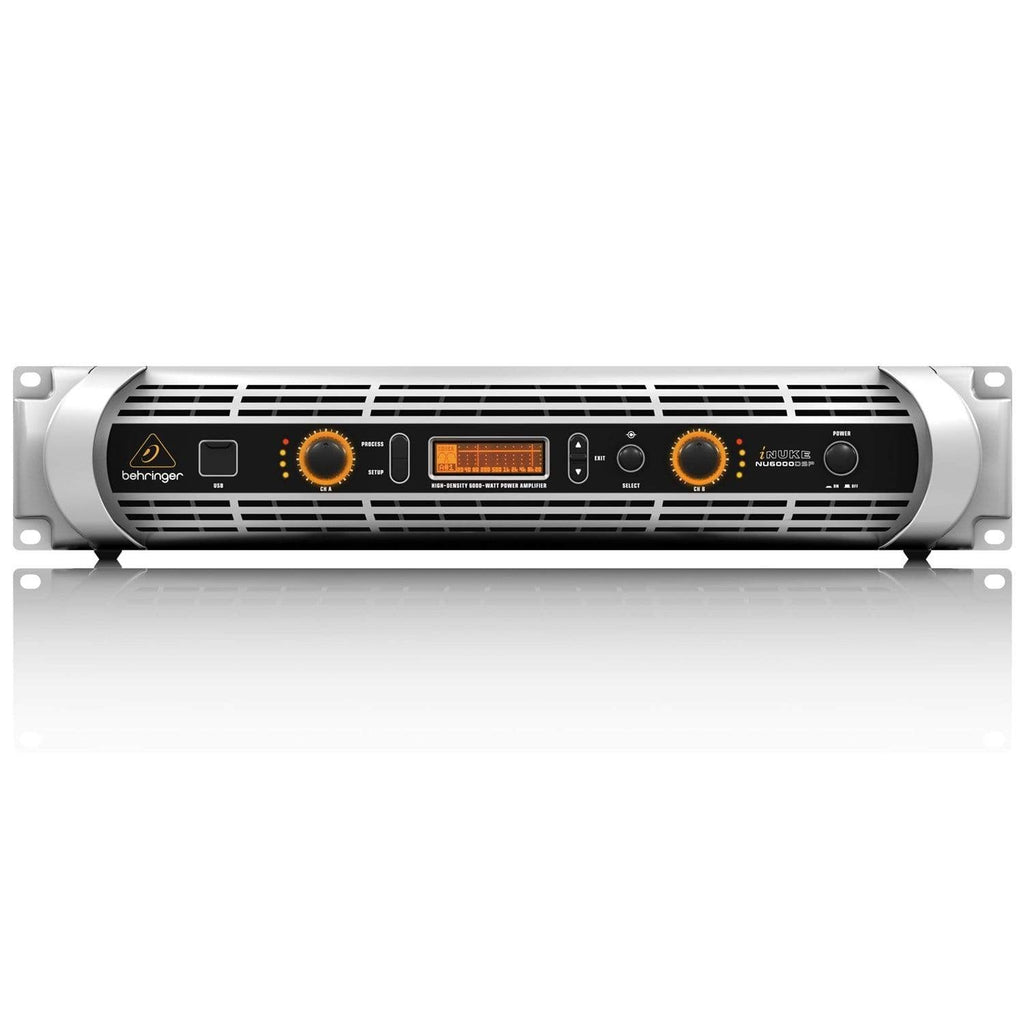 Behringer PA Amplifier Behringer INUKE NU6000DSP Powered Amplifier w/DSP