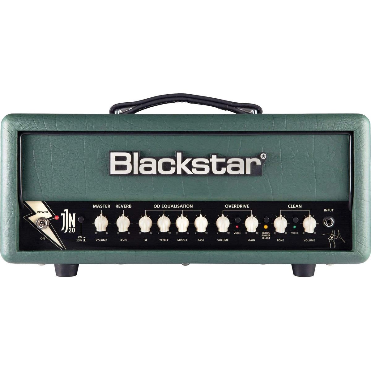 Blackstar JJN-20RH MKII Jared James Nichols Valve Amplifier Head - Racing Green