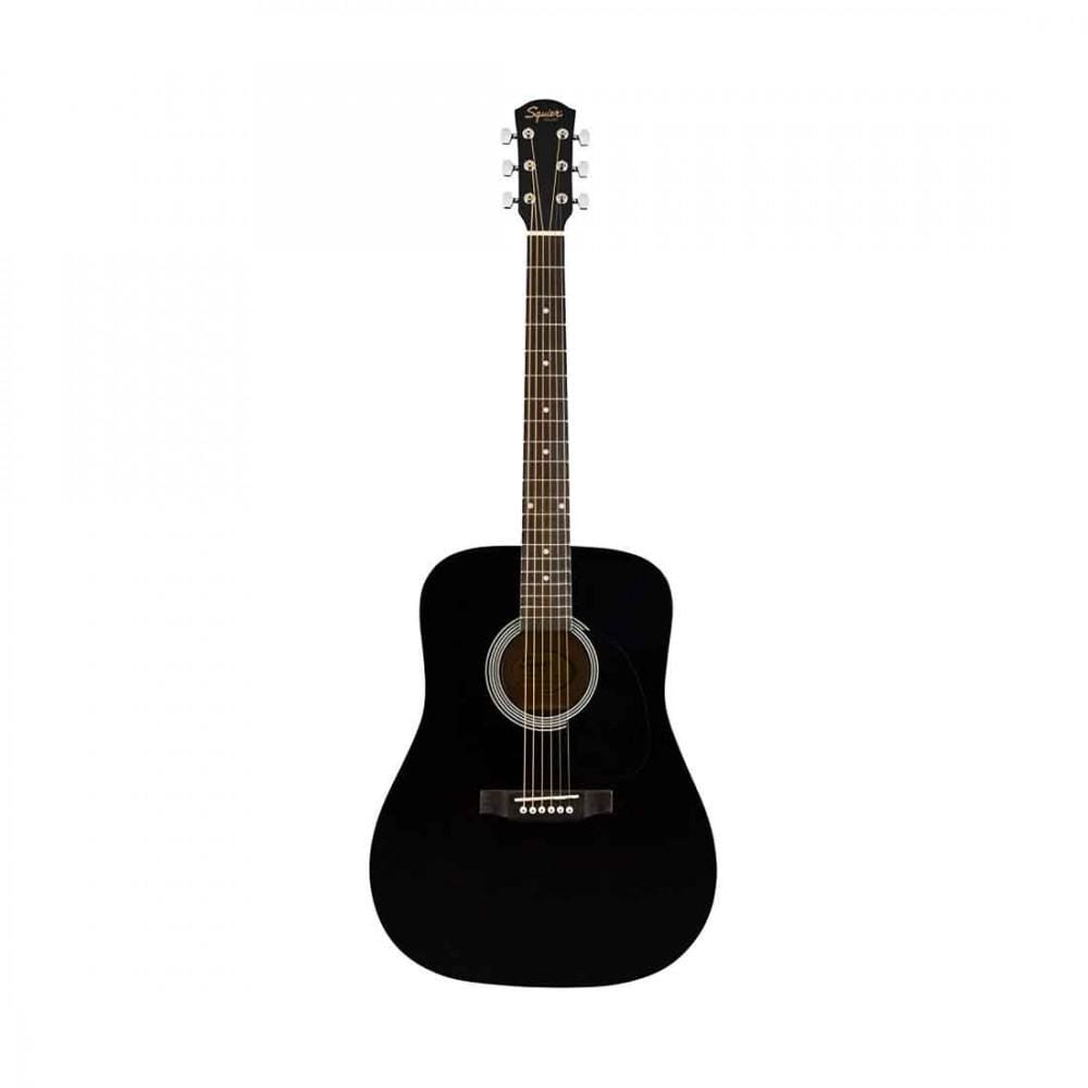 Fender Acoustic Guitar Black Fender SA-150 Dreadnought Acoustic Guitar