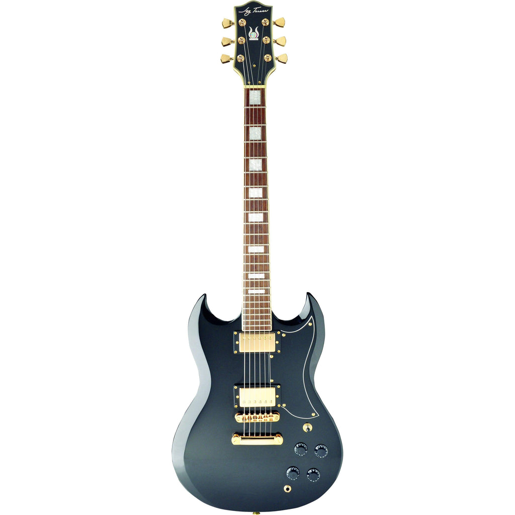 Jay Turser Electric Guitar Jay Turser JT50CUSTOMBK Electric Guitar