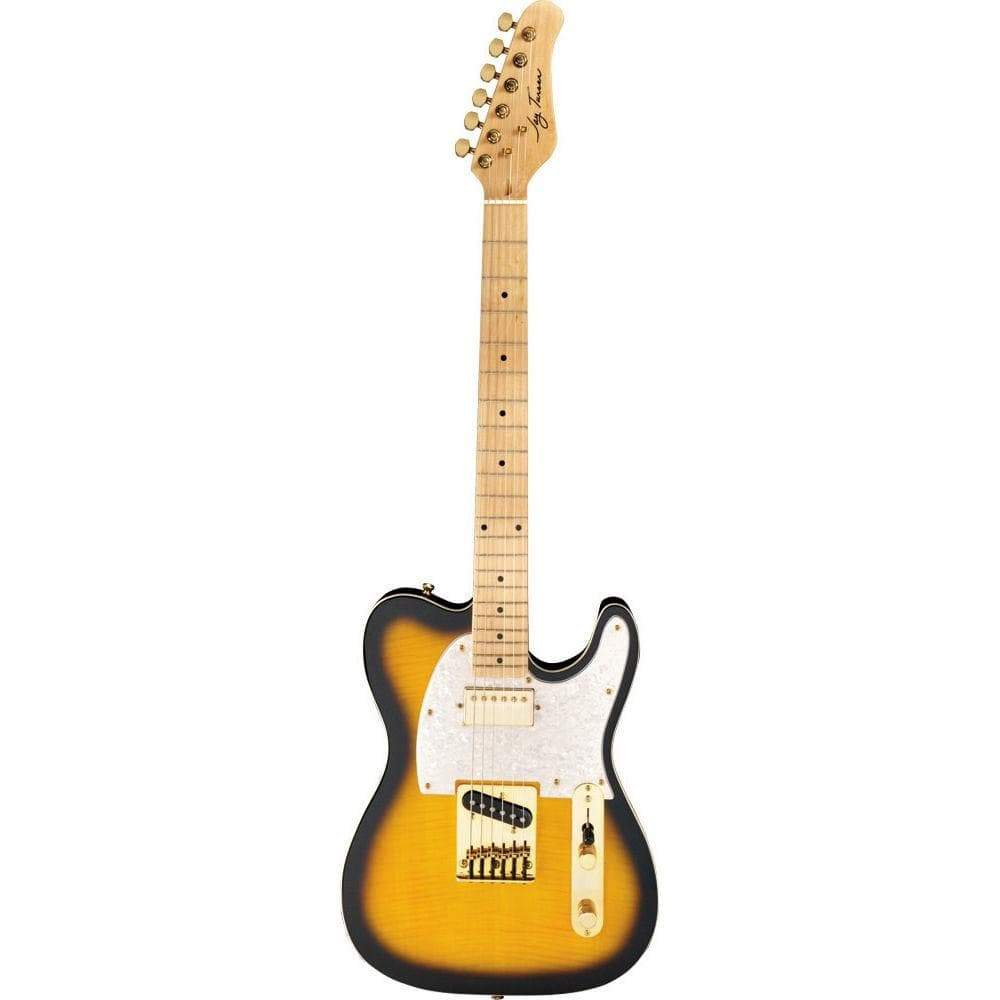 Jay Turser Electric Guitar Jay Turser JTLTCUSTOMDLXANS Electric Guitar - Antique Natural Sunburst