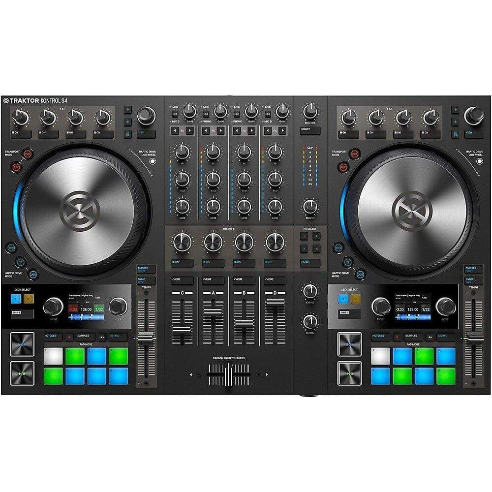Native Instruments DJ Controller Native Instruments TRAKTOR KONTROL S4 MK3