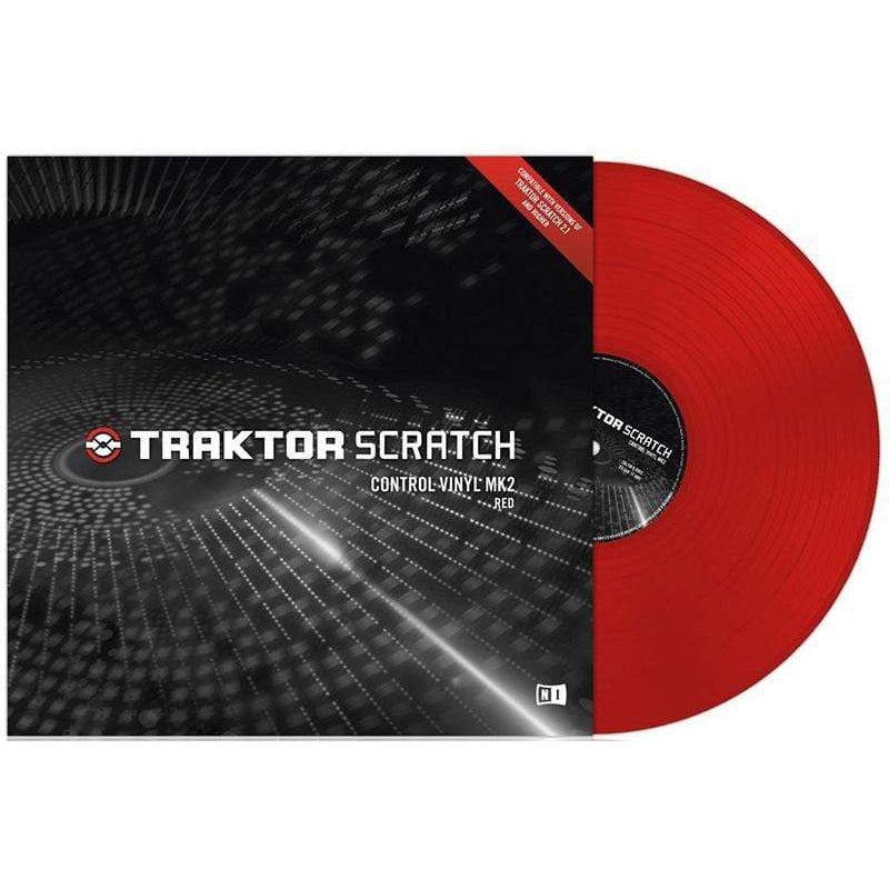 Native Instruments DJ Equipment Native Instruments TRAKTOR SCRATCH Control Vinyl MK2 Red