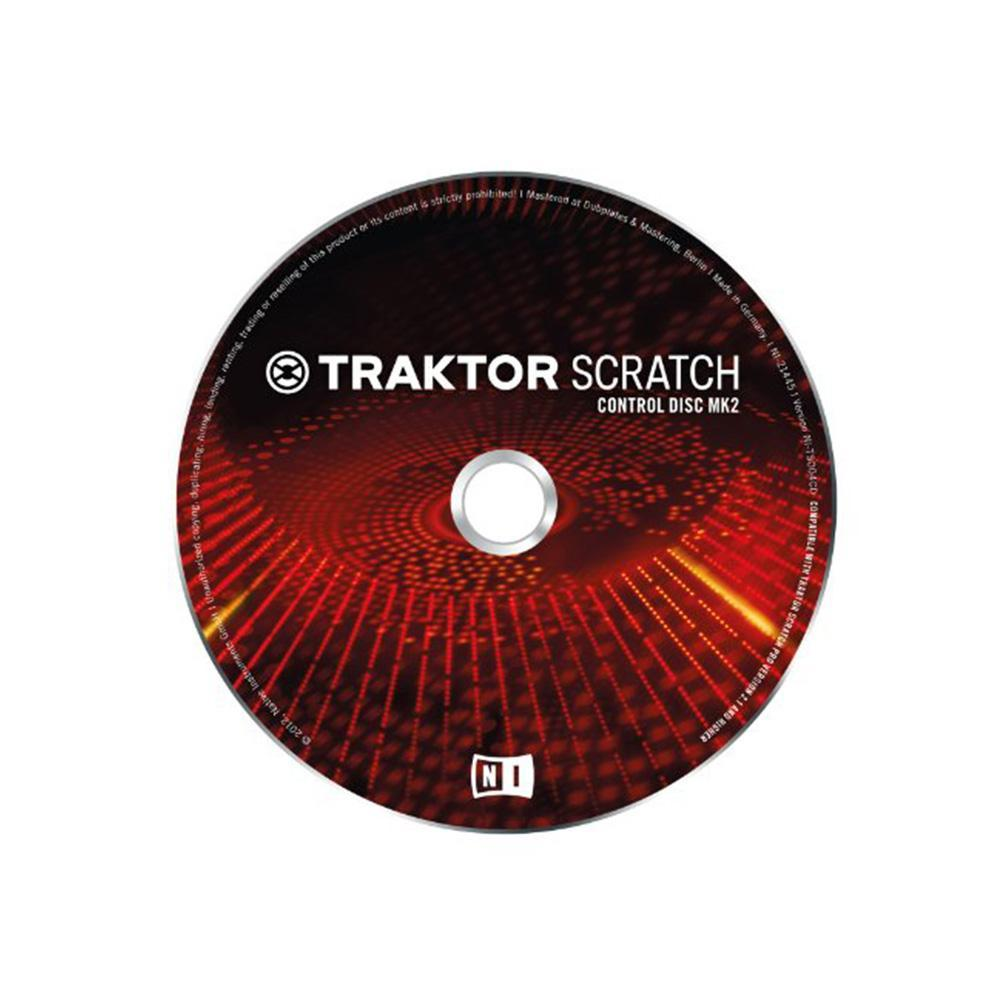 Native Instruments DJ Equipment Native Instruments TRAKTOR SCRATCH Pro Control CD MK2