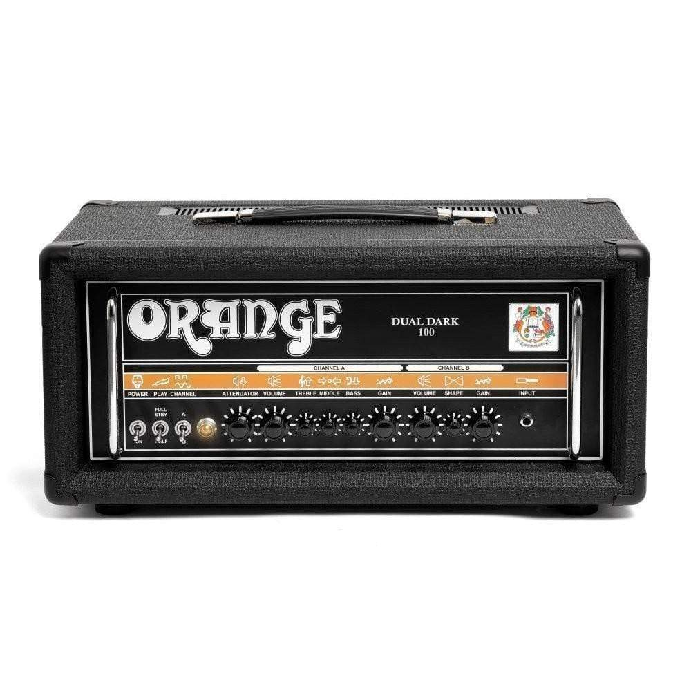Orange Amplifier Head Orange Dual Dark 100 Guitar Amp Head