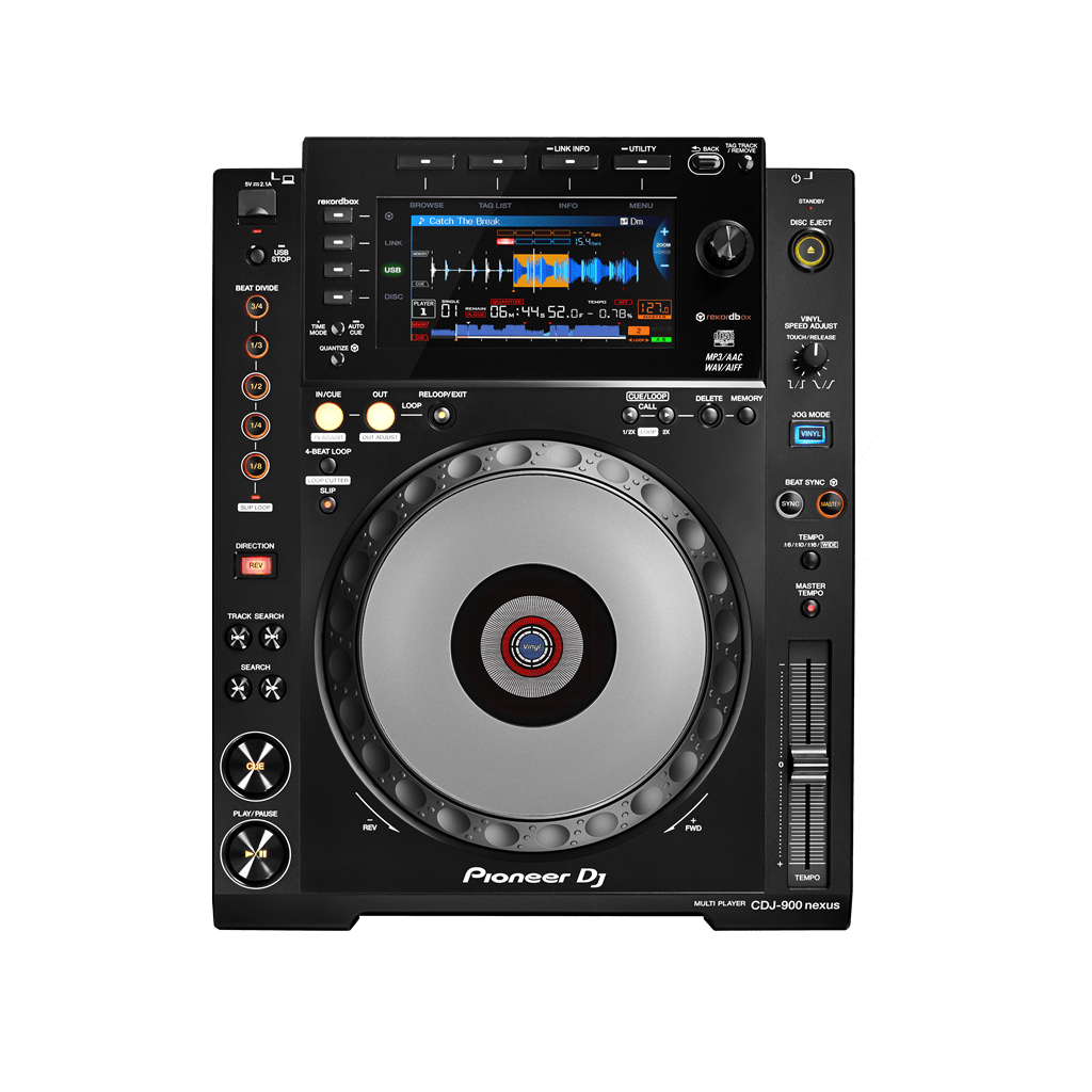 Pioneer DJ DJ CD/Media Player Pioneer DJ CDJ-900NXS DJ Multi Player