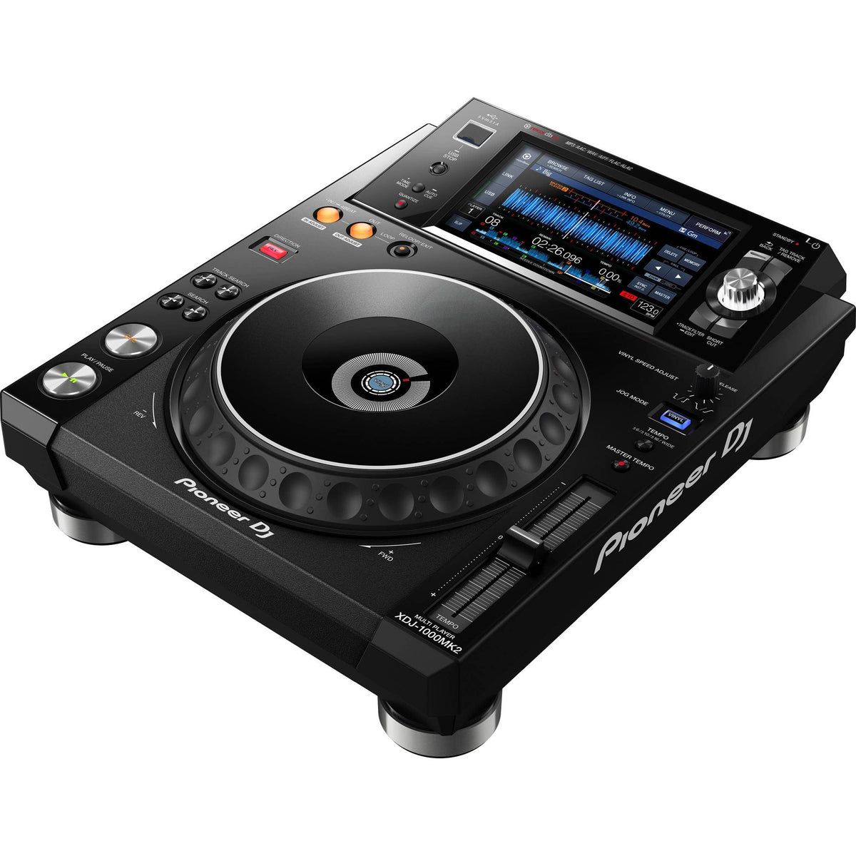 Pioneer DJ XDJ-1000MK2 High-Performance Multi-Player DJ Deck w/ Touch Screen