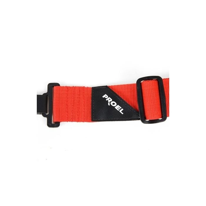 Proel STRAP150RD Adjustable Guitar Band Strap (Red)