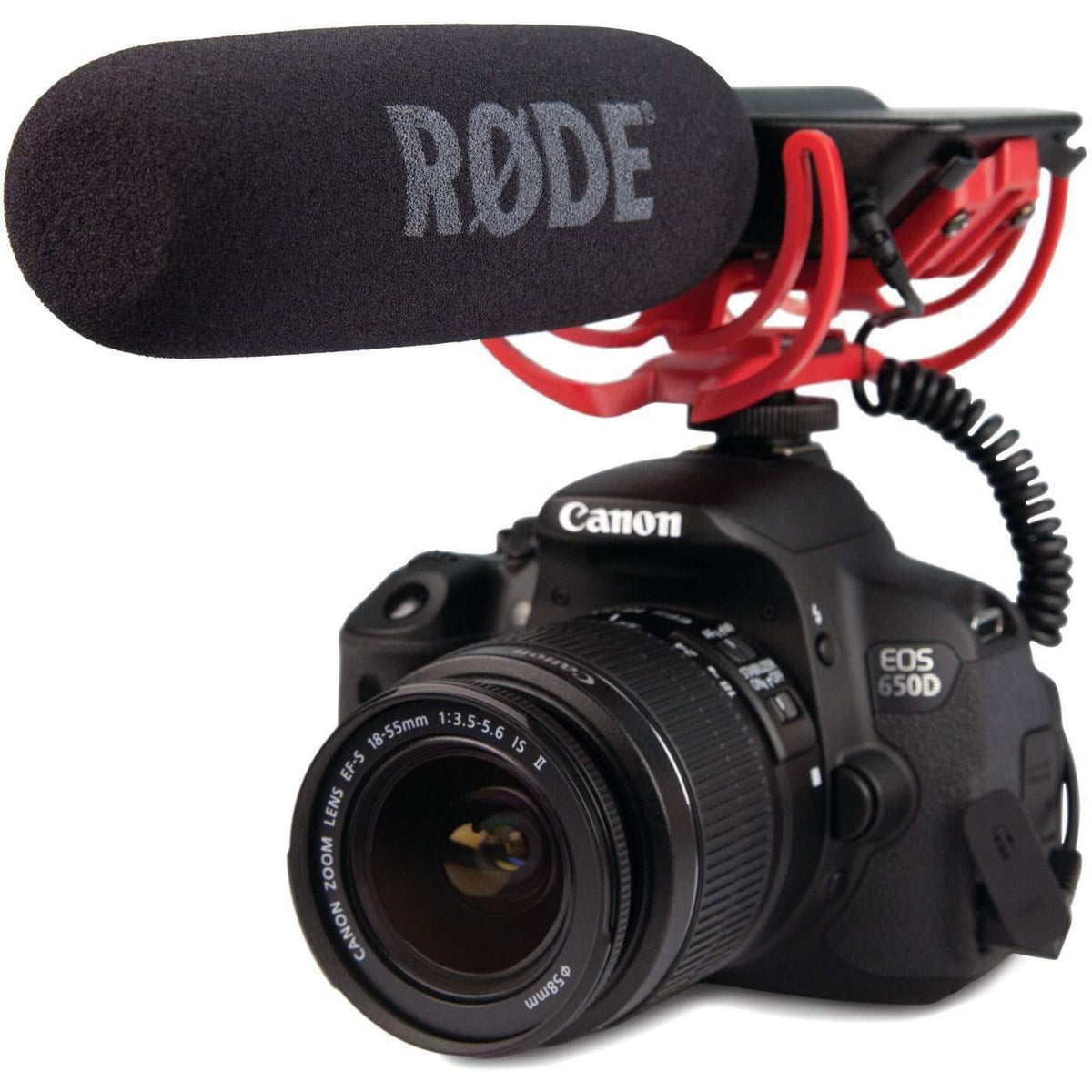 Rode VideoMic GO Lightweight Camera-Mount Shotgun Microphone