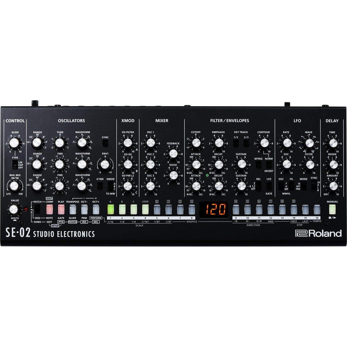 Roland Key Instruments Roland SE-02: Analogue Synthesiser