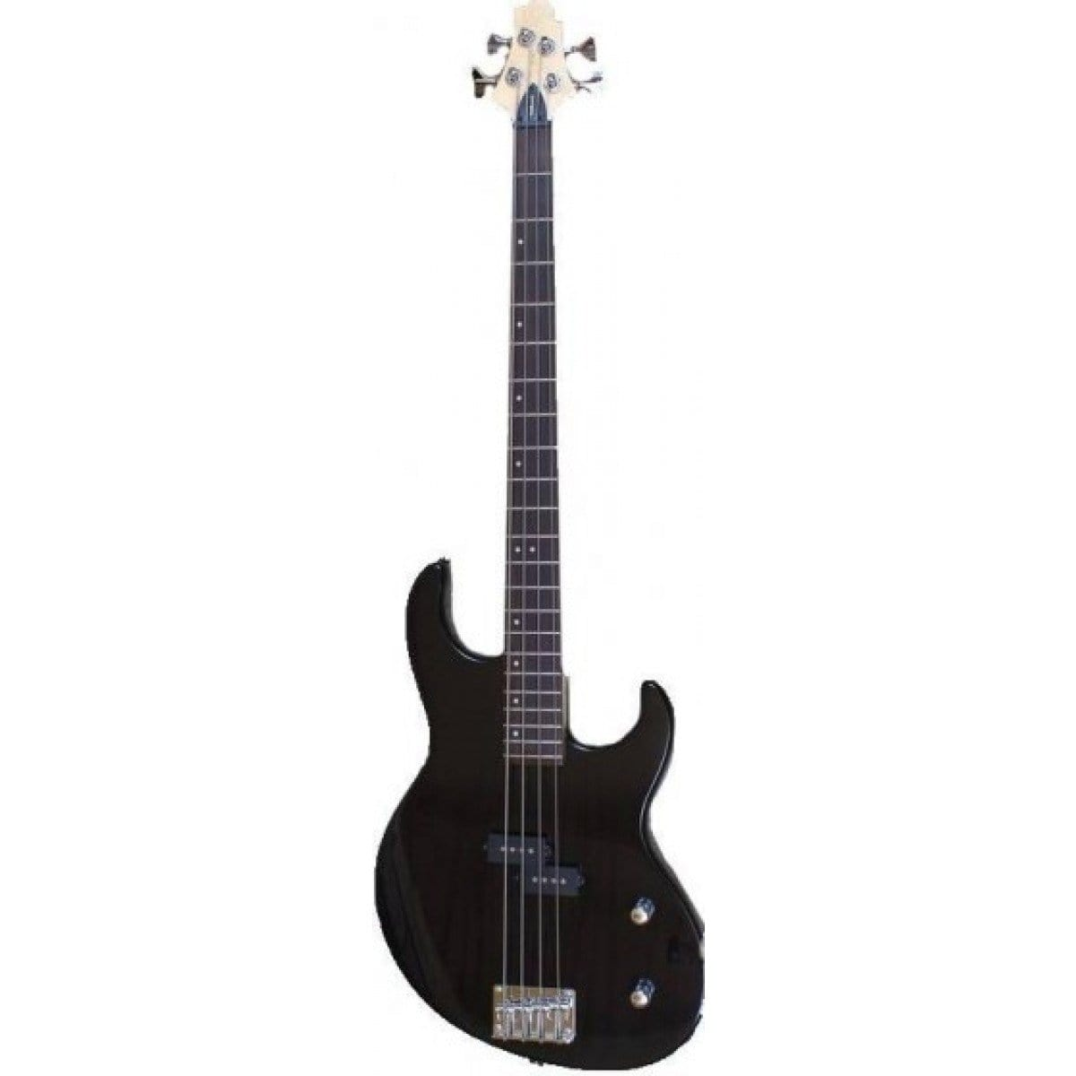 Samick FN-2 Greg Bennett 4-String Electric Bass Guitar - Black
