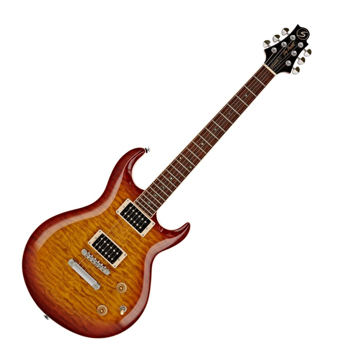 Samick UM-3-VS Greg Bennett Electric Guitar - (Vintage Sunburst/Orange Sunburst)