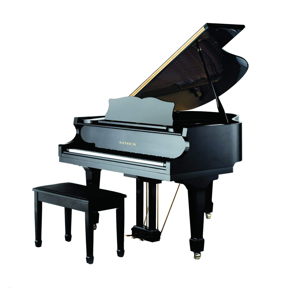 Samick SIG-48DEBHP Grand Piano - Ebony HP