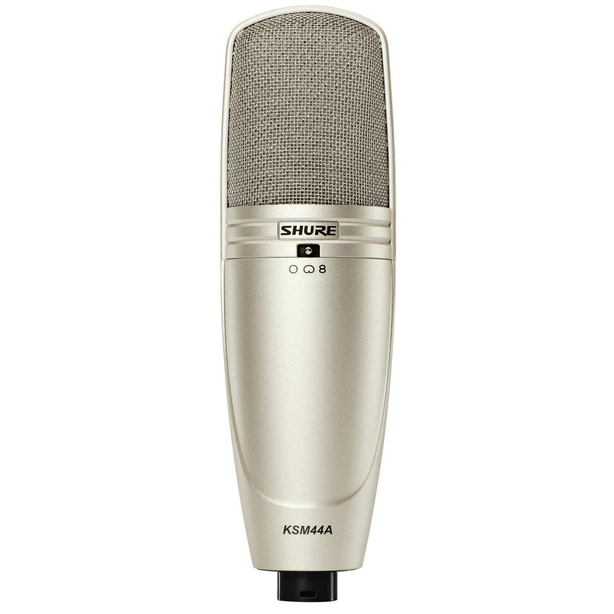 Shure KSM44A/SL Large-diaphragm Condenser Microphone - Silver