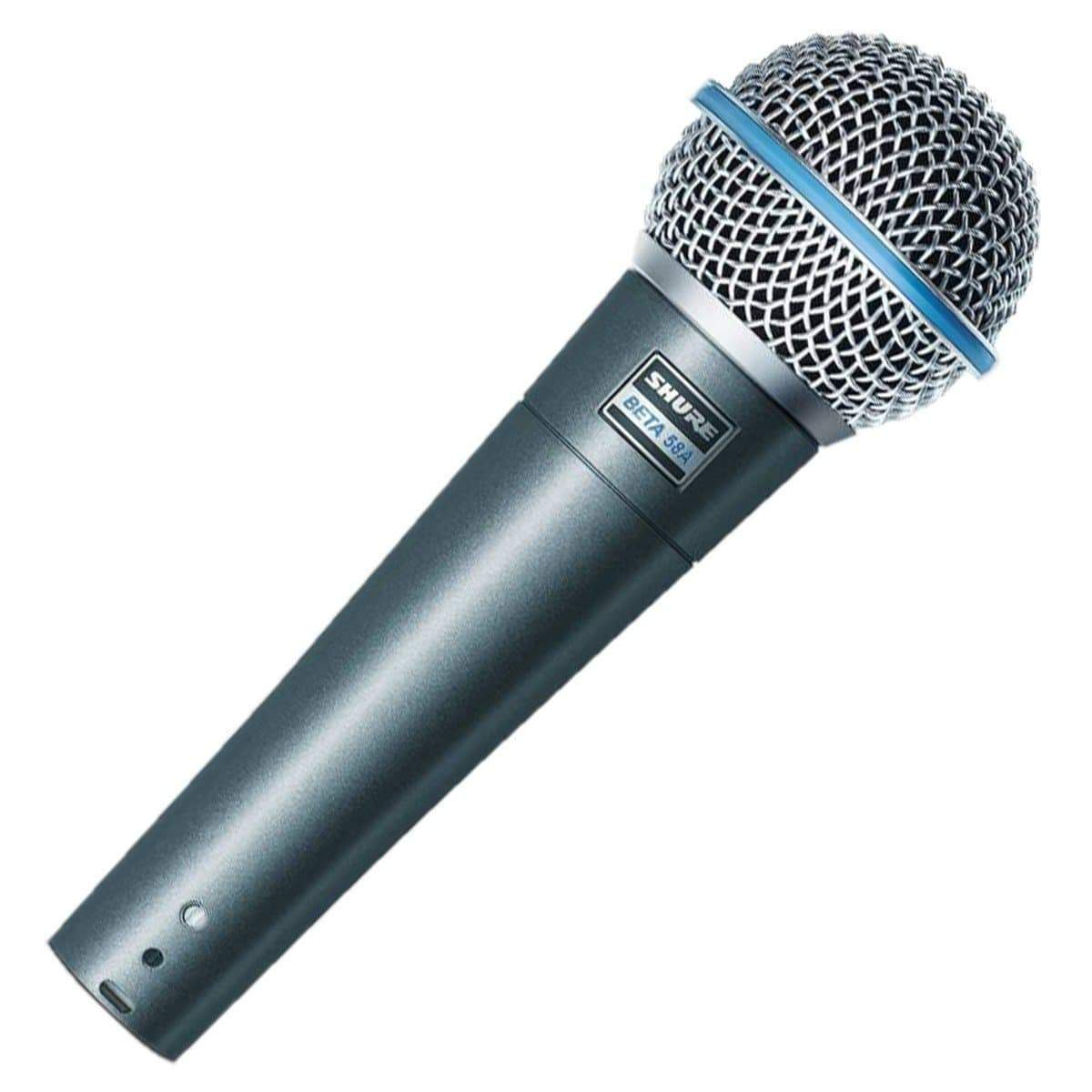 Shure Dynamic Microphone Shure Beta 58A Supercardioid Dynamic Vocal Microphone