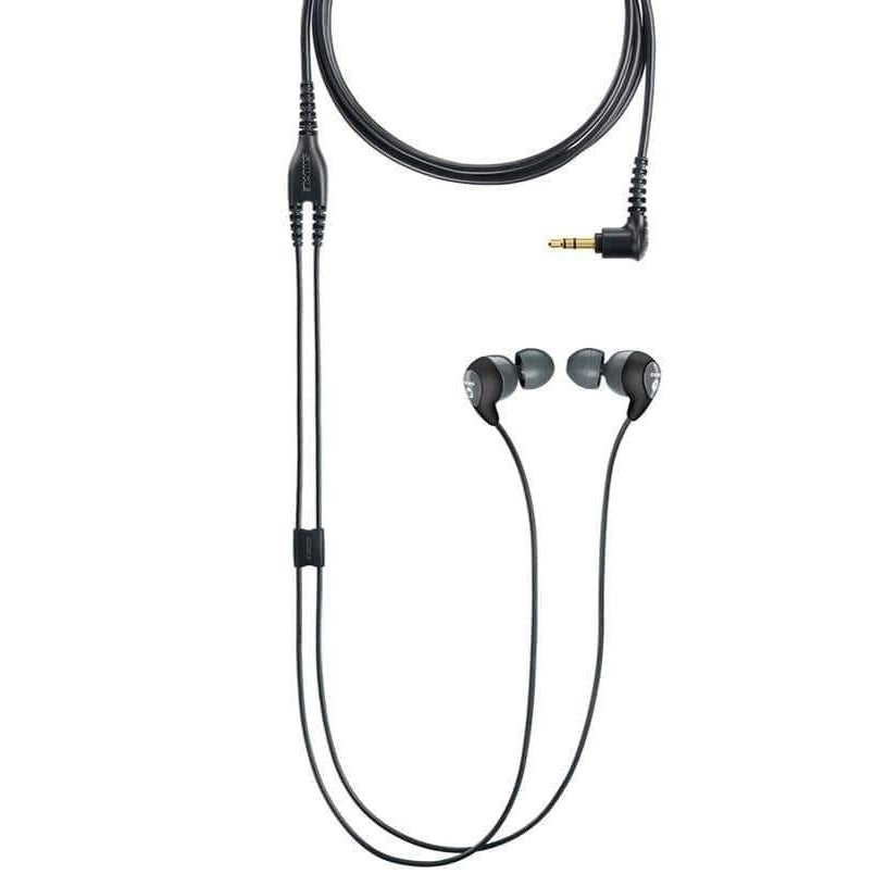 Shure Earphones Shure SE112EFS Sound Isolating Earphones - Grey