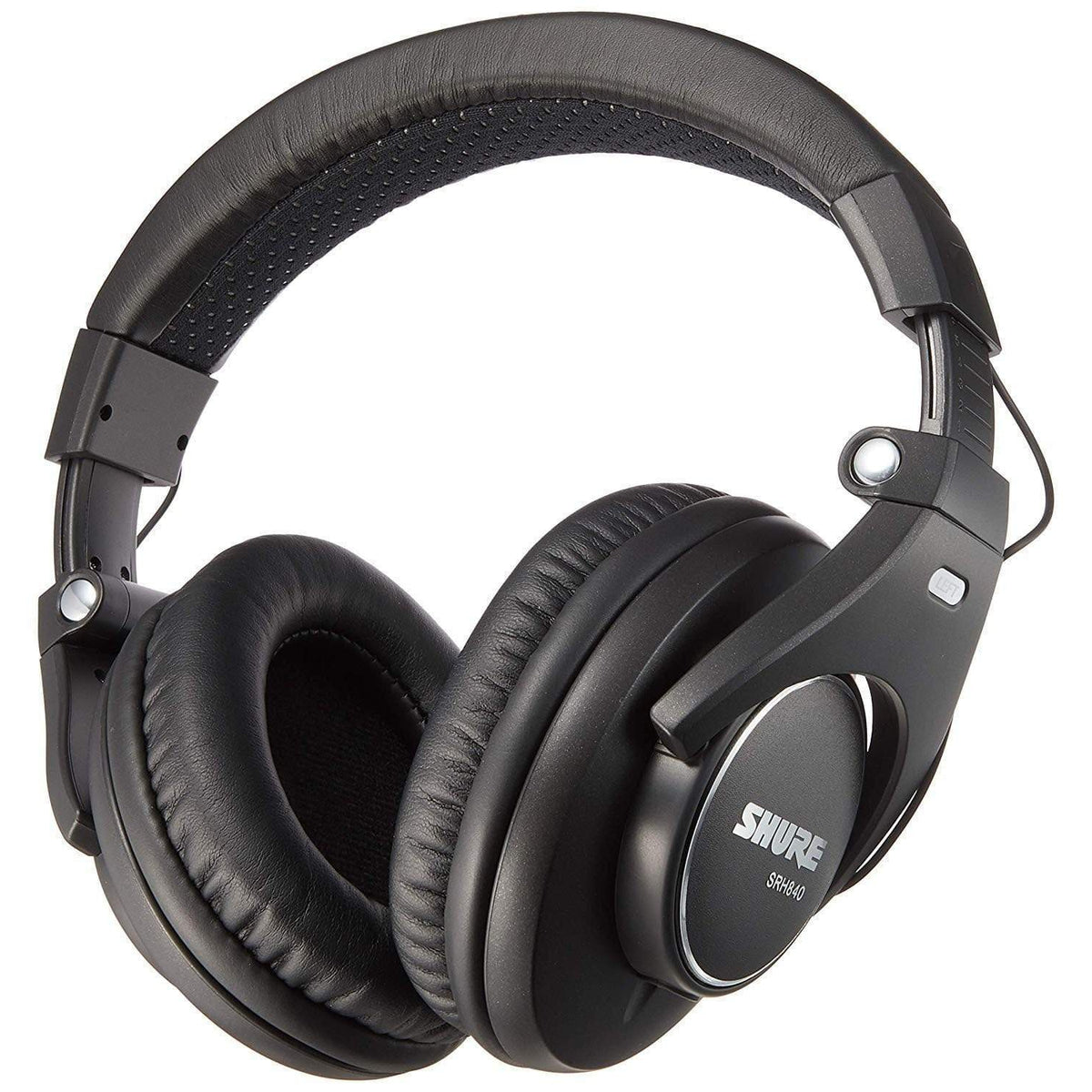 Shure Headphones Shure SRH840 Closed-back Pro Studio Monitor Headphones