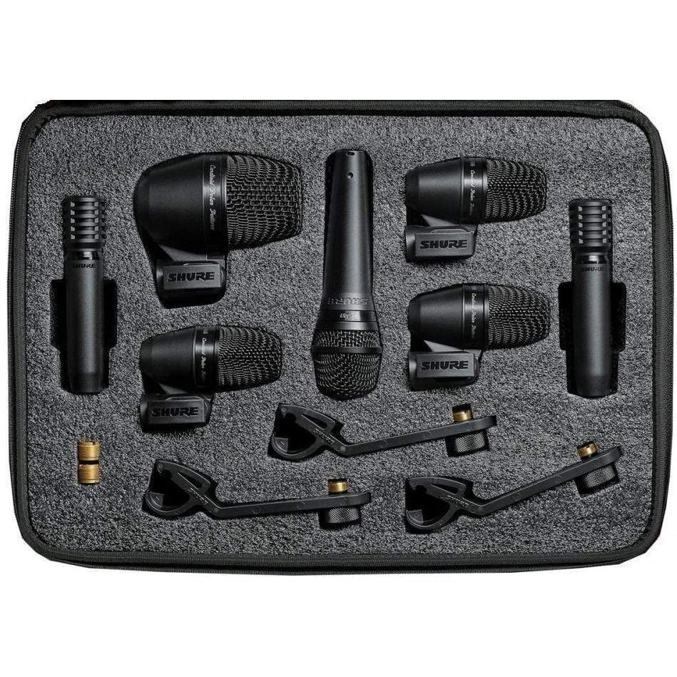 Shure Pro Audio Shure PGADRUMKIT6 Microphone Kit – The extended package