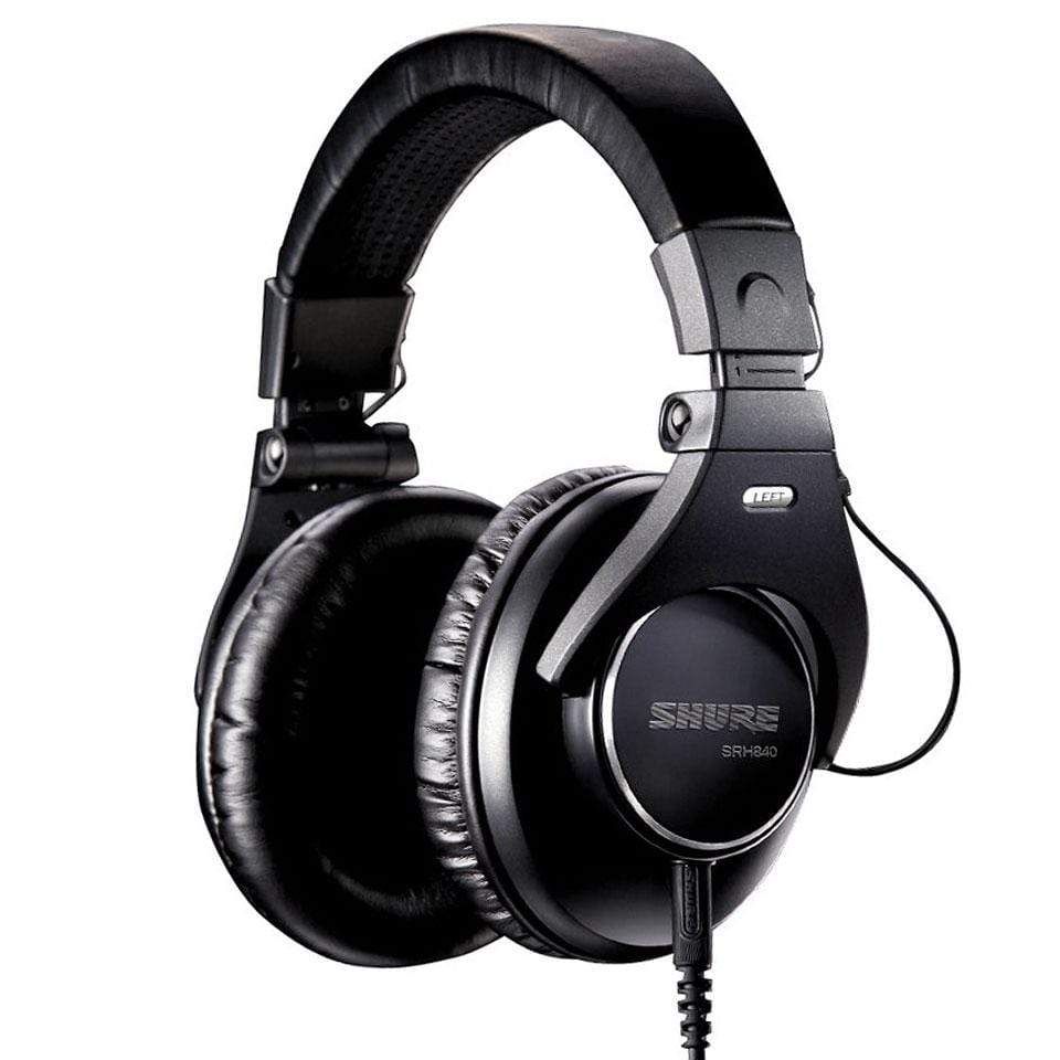 Shure SRH840 Closed-back Pro Studio Monitor Headphones
