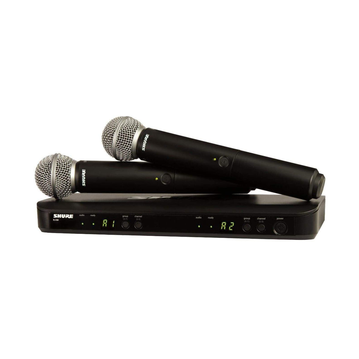 Shure Wireless Microphone Shure BBLX288UK/SM58X-K14 Wireless Microphone System