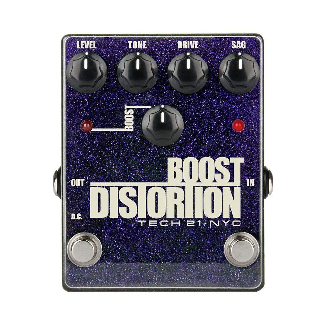 Tech 21 BSTM-D Boost Distortion Analog Distortion Pedal w/ Clean Boost