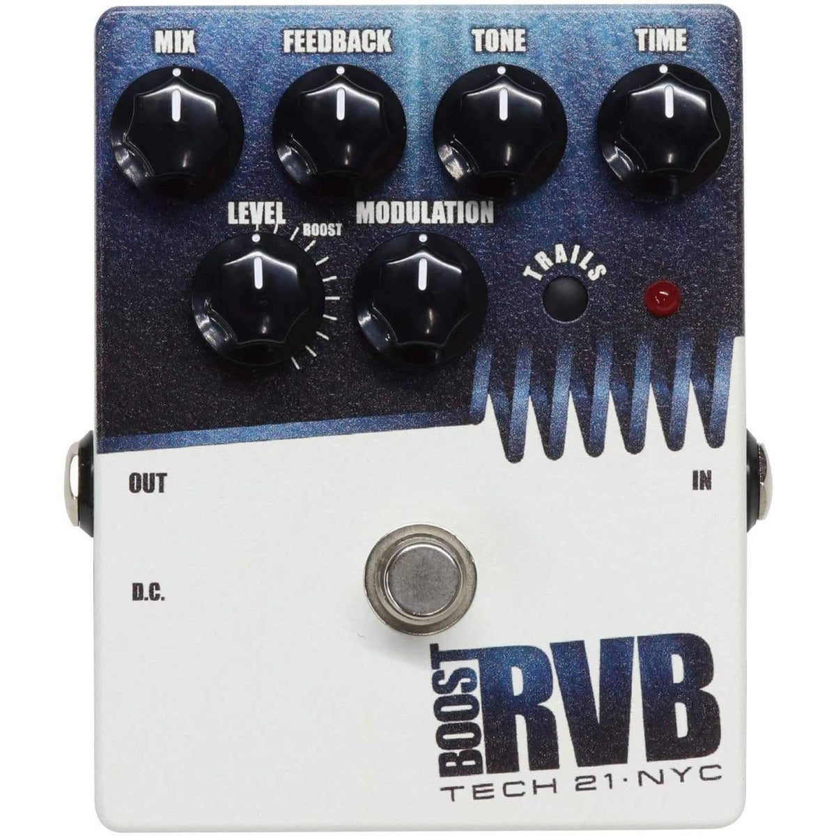Tech 21 RVBT-V Boost RVB Analog Reverb Emulator w/ Clean Boost