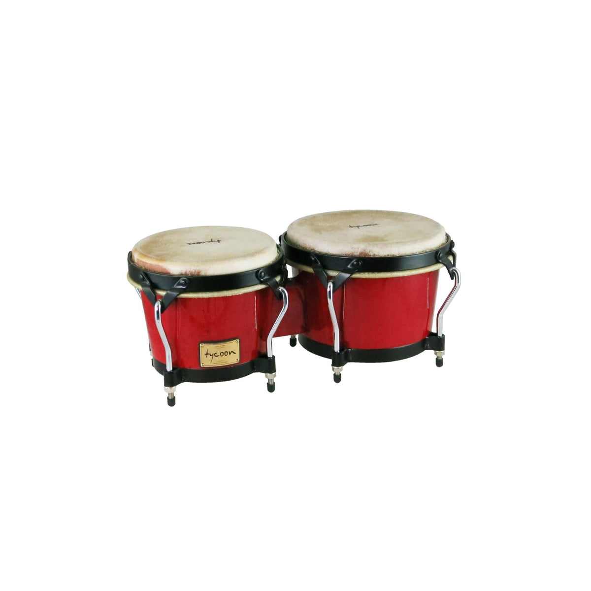 Tycoon Percussion Tycoon Percussion Supremo Series Red Bongos