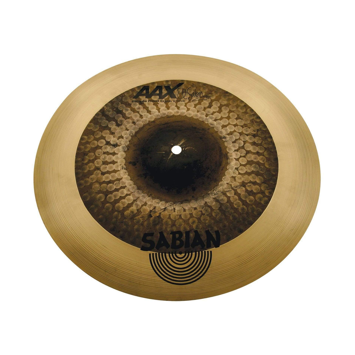 "vendor-unknown Crash Cymbal SABIAN - 21660XH 16"" AAX El Sabor Picante Hand Crash"