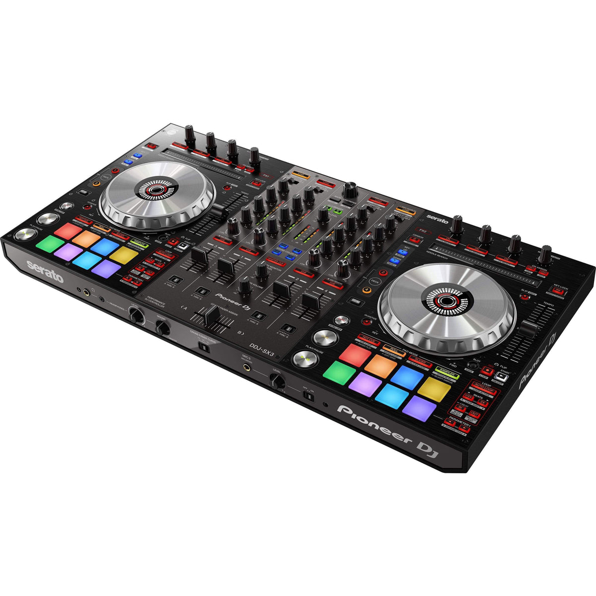 vendor-unknown DJ Equipment Pioneer DDJ-SX3 4-channel Dual Deck DJ Control (Black)