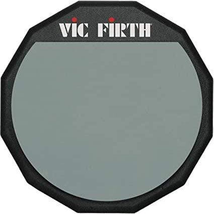 "VIC FIRTH - PAD12 12"" Single Sided Practice Pad"