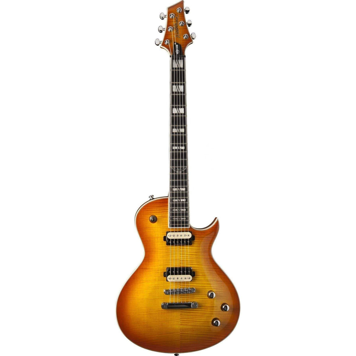 Washburn PXL200FHB Parallaxe Electric Guitar - Flame Honey Burst