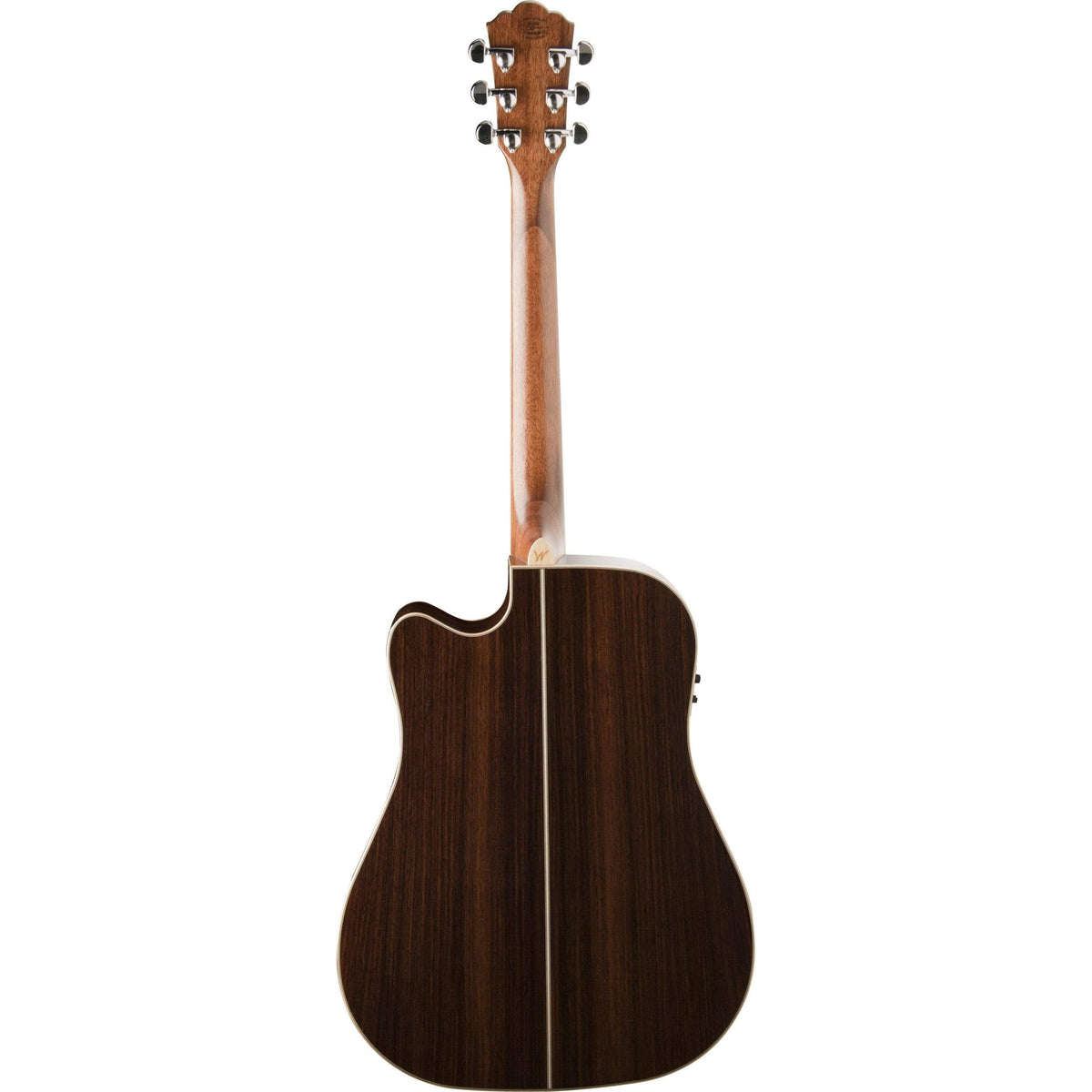 Washburn Guitars Semi-Acoustic Guitar Washburn WD25SCE Dreadnought Cutaway acoustic guitar